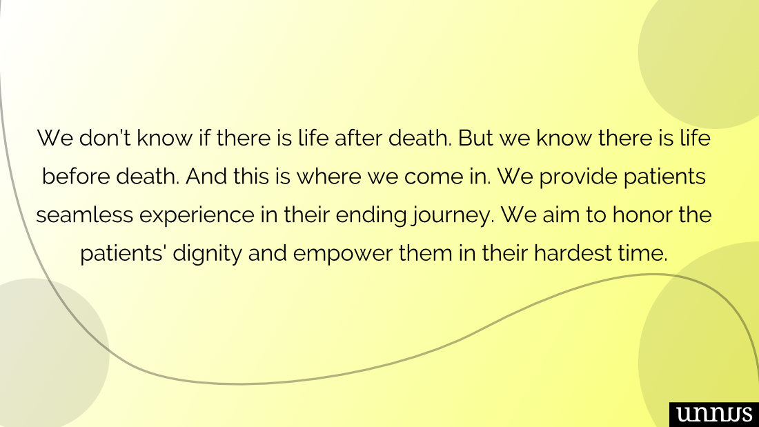 Picture of hospice mission statement