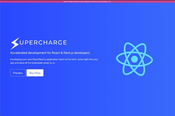 Screenshot of Supercharge.dev