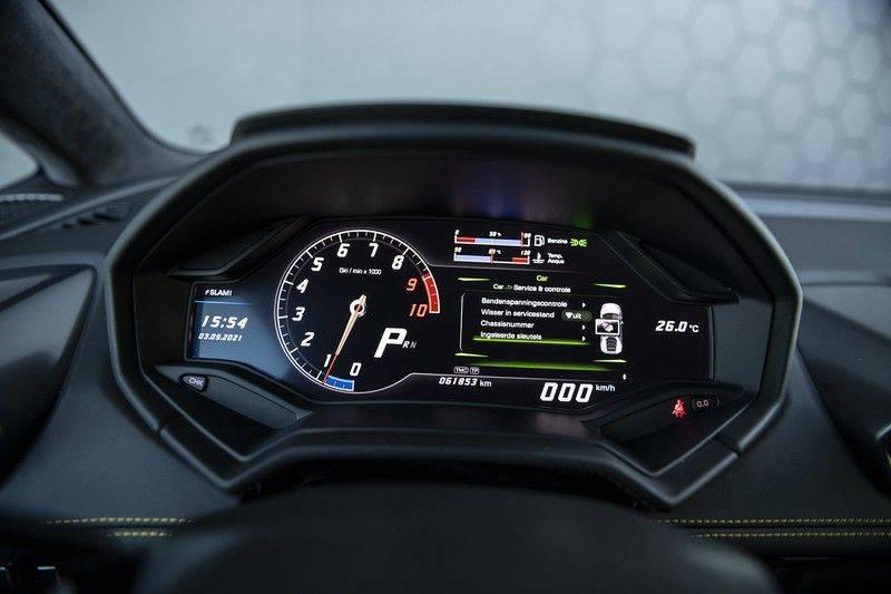 Lamborghini Huracan 5.2 V10 LP610-4 Blue Eye + Carbon Spoiler + LIFTING + Achteruitrijcamera afbeelding 16