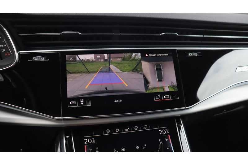 Audi SQ7 4.0 TDI 435pk quattro 7p Panoramadak, BOSE, Massage, Ruitstiksel, Trekhaak afbeelding 23