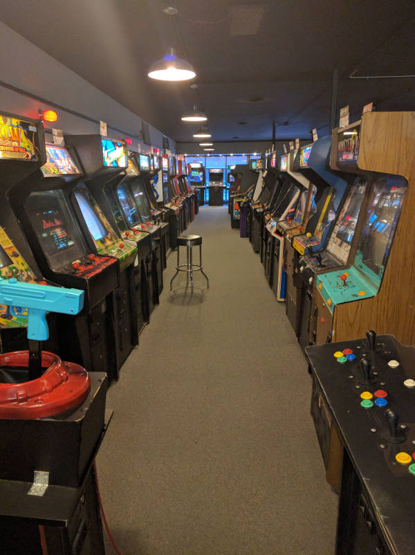 Galloping Ghost Arcade Machines