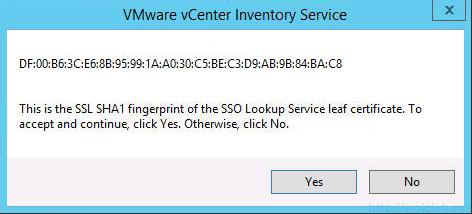 vCenter 5.5 on Windows Server 2012 R2 with SQL Server 2014 – Part 3 - 29