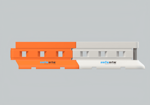 Standard Rhino Barriers Connected