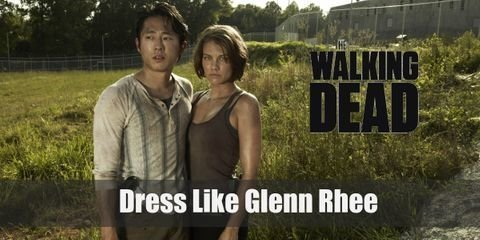 Glenn wears a long-sleeved undershirt, pants, and boots which is a great outfit for his position as a gatherer of resources. Here is everything you need to look like Glenn Rhee