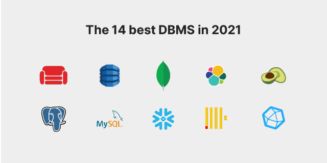 List of the best DBMS