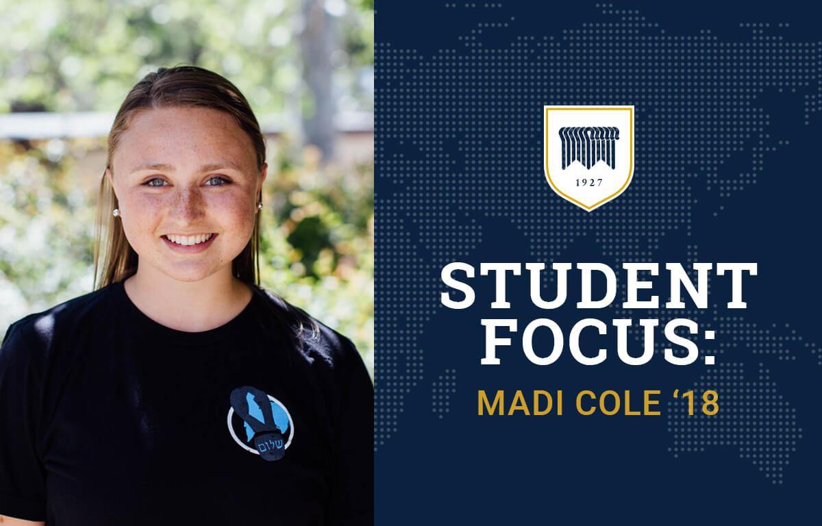 Student Focus: Madi Cole image
