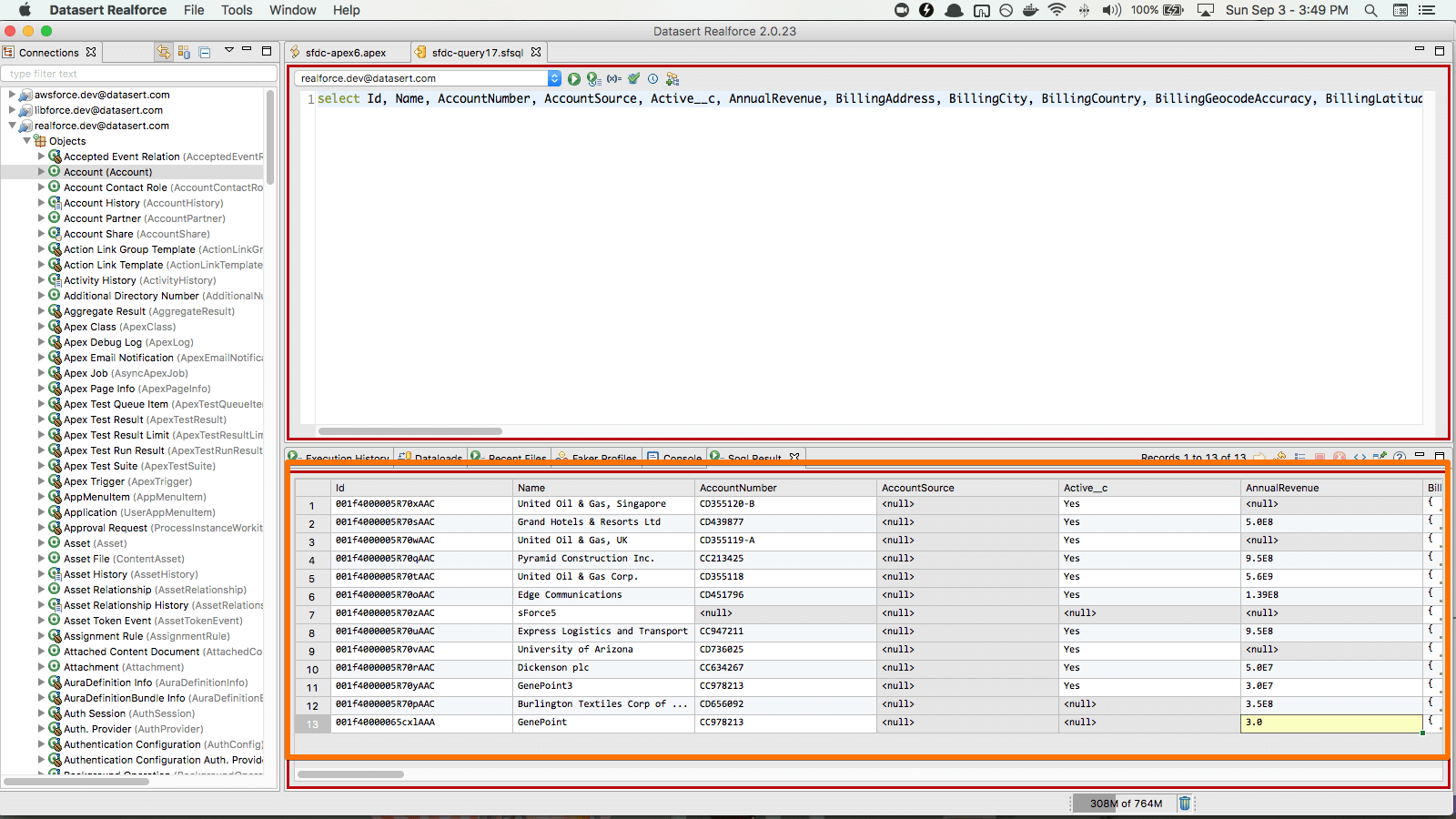 Datasert - Realfire
