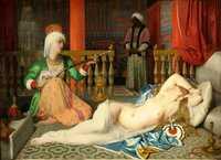 L'Odalisque et l'esclave (1839) by Ingres, Fogg Art Museum
