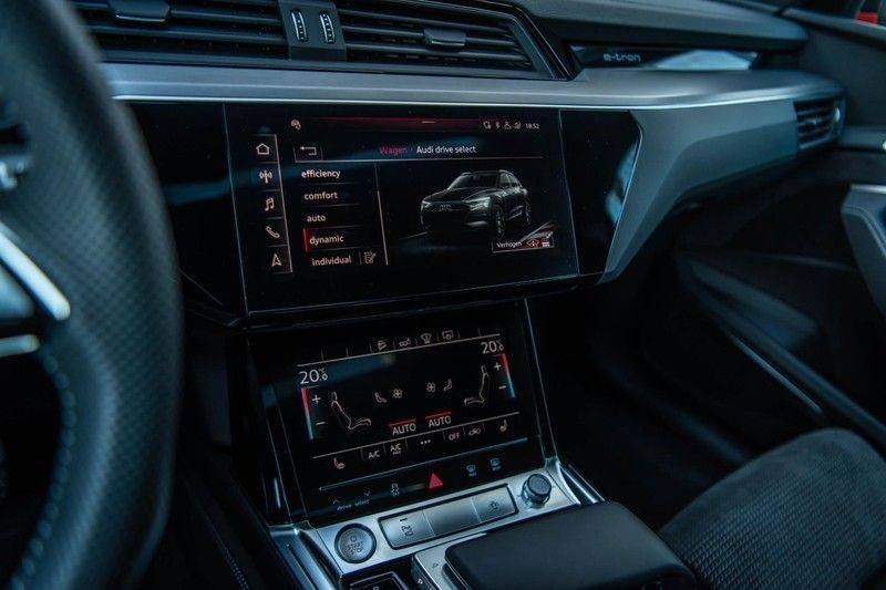 Audi e-tron 55 Quattro Advanced Exterieur, 408 PK, 4% bijtelling, Head/Up display, Pano/Dak, Night/Vision, S-line interieur, 15DKM afbeelding 12