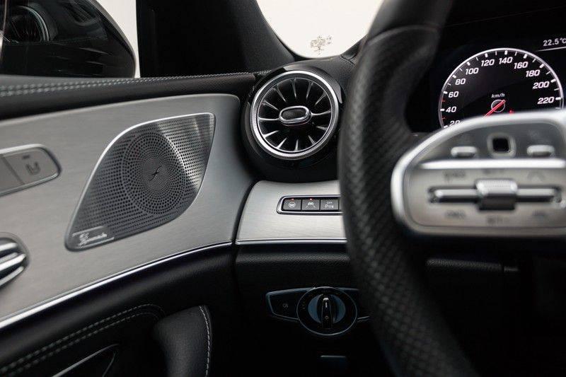 "Mercedes-Benz CLS-Klasse CLS450 AMG 367pk 4Matic Schuifdak Nightpakket Widescreen DistronicPlus Burmester SuperSportStuur Luchtvering Multibeam Keyless ComandOnline AmbientLight DAB Parktronic 20""AMG 360Camera Pdc 10/2018 afbeelding 17"