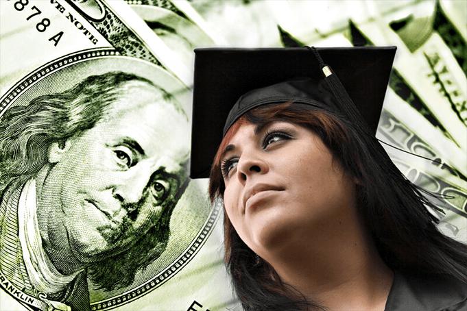 A recent college graduate saving money