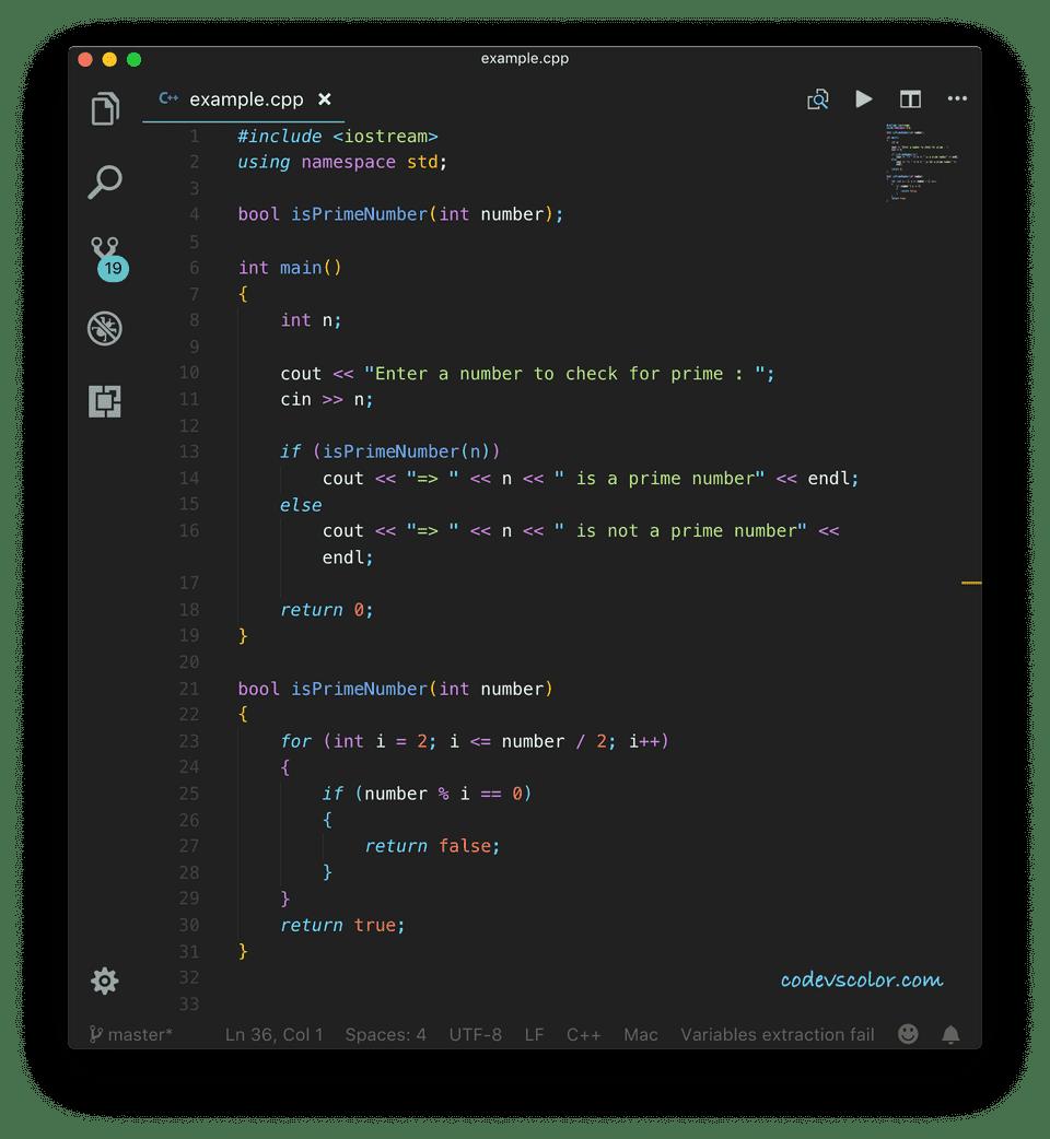 C++ find prime