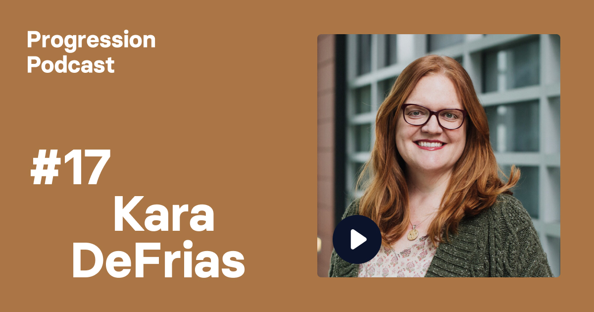 Podcast #17: Kara DeFrias on changing careers, curing cancer and being a sponsor