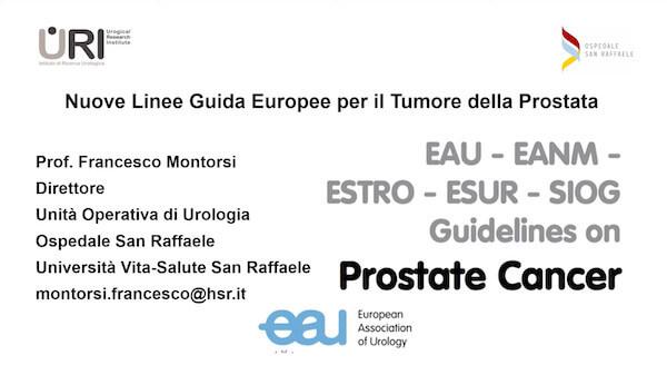 Nuove Linee Guida Europee per il Tumore della Prostata (2020)