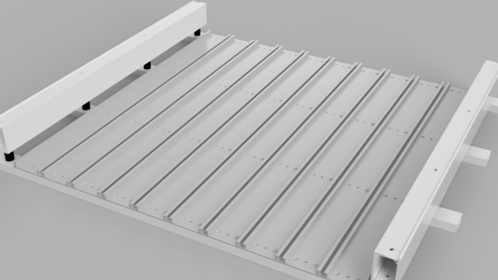Hybrid Table with T-track