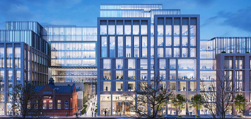 Westrige real estate cgi for new kevin street building