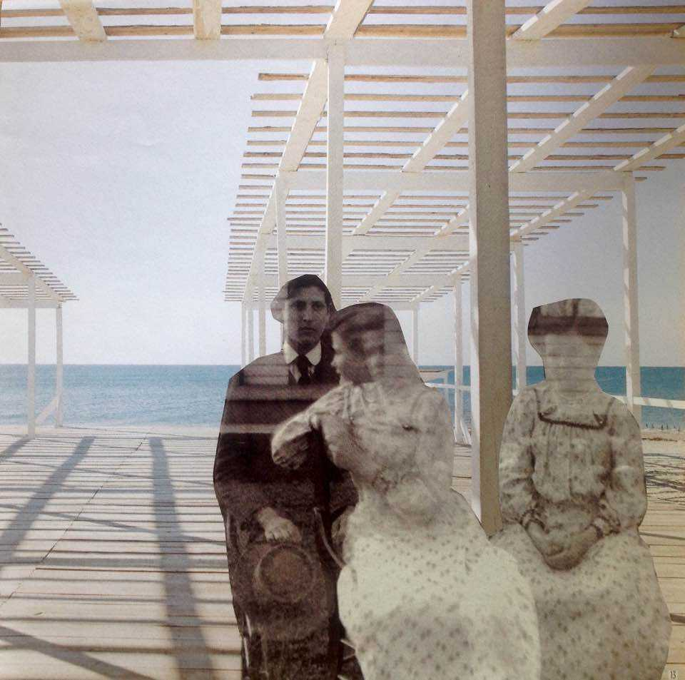 Vague souvenir de la plage