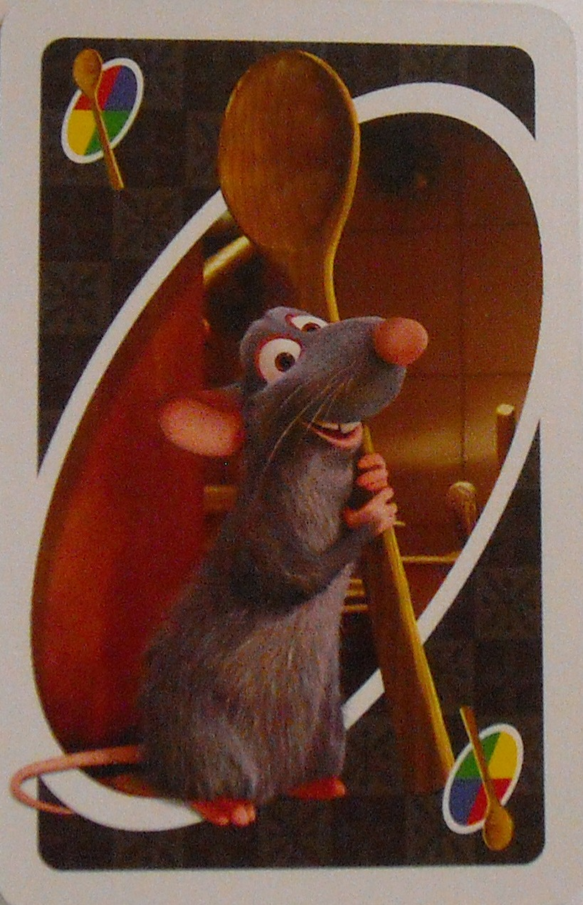 Ratatouille Uno (Recipe for Chaos Card)
