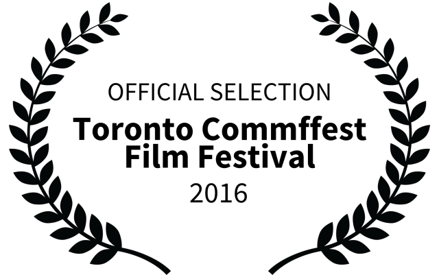 laurel for Toronto Commffest Film Festival