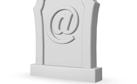 De e-mail is dood!