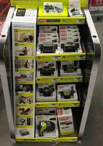 RYOBI Phone works in Home Depot