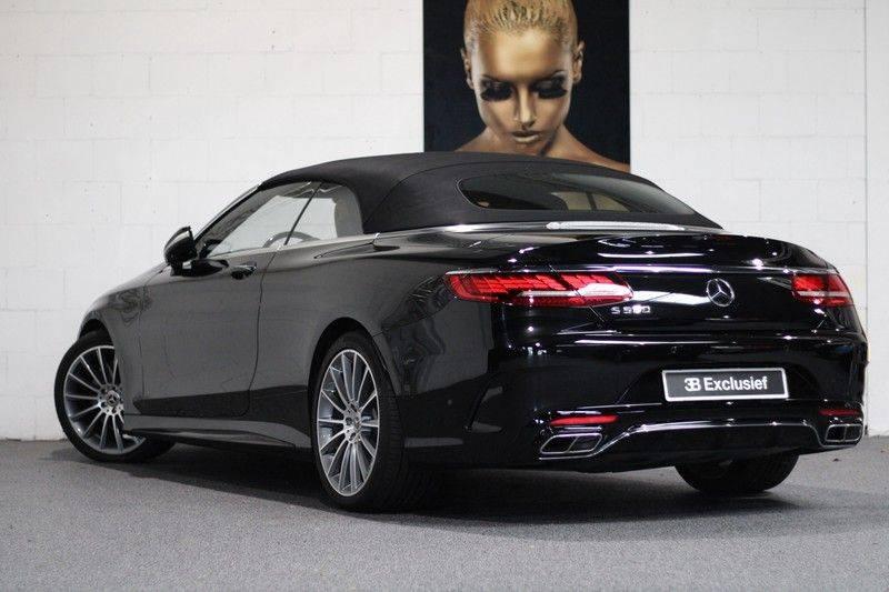 Mercedes-Benz S-Klasse Cabrio 560 Premium Plus AMG-pakket, Burmester, 360 camera, Alcantara hemel, Stoelkoeling afbeelding 2