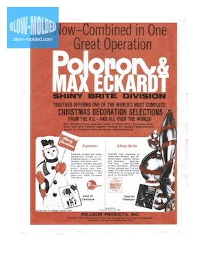 Poloron Products Poloron & Max Eckardt Announcement (1972) preview