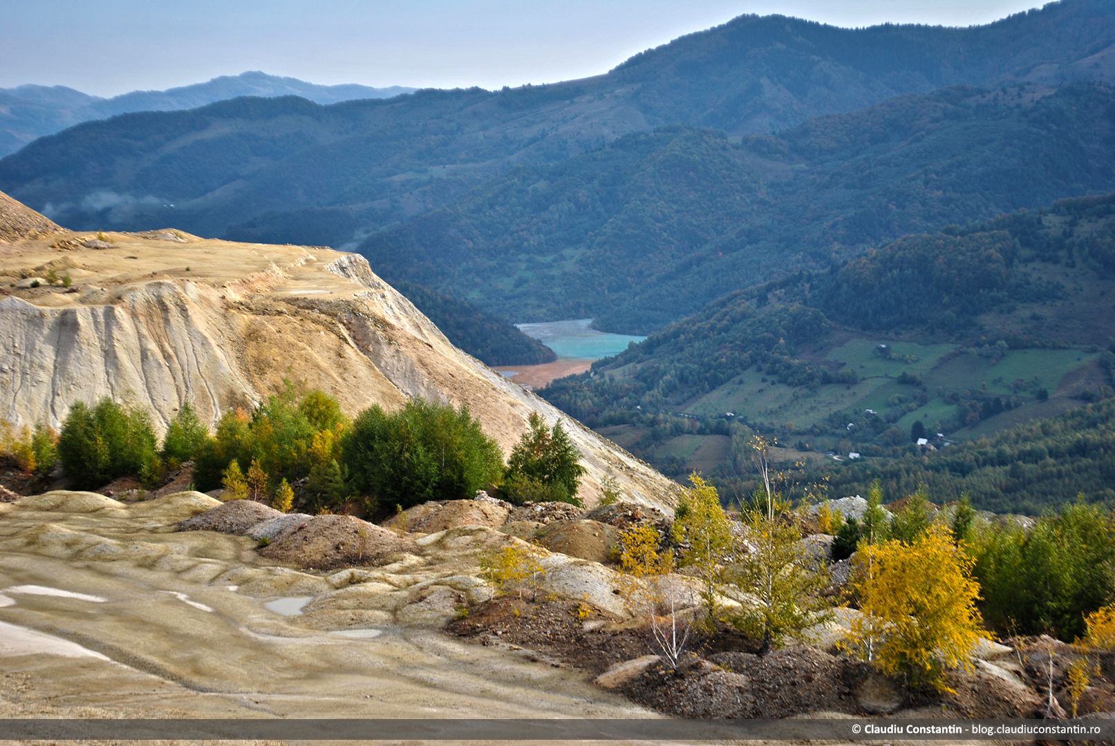 Iazul de decantare Valea Şesii