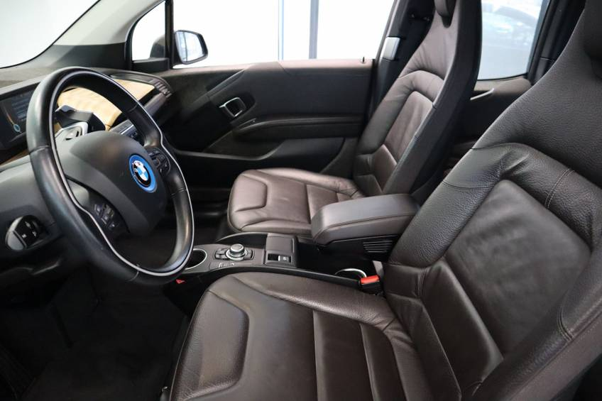 BMW i3 Basis Comfort Advance 22 kWh Marge Warmtepomp Navigatie Clima Cruise Panorama afbeelding 8