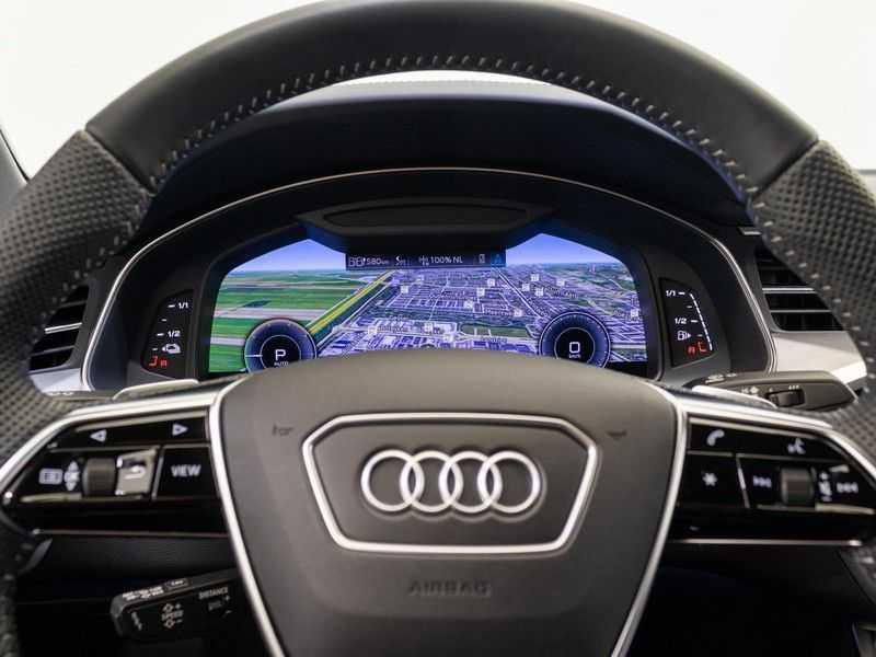 Audi A6 55 TFSI e quattro Competition Plug in Hybrid | 367PK | S-Line | B&O Sound | Nachtzicht | Camera | Adapt.Cruise | Head-Up | Trekhaak | Full Option | afbeelding 24