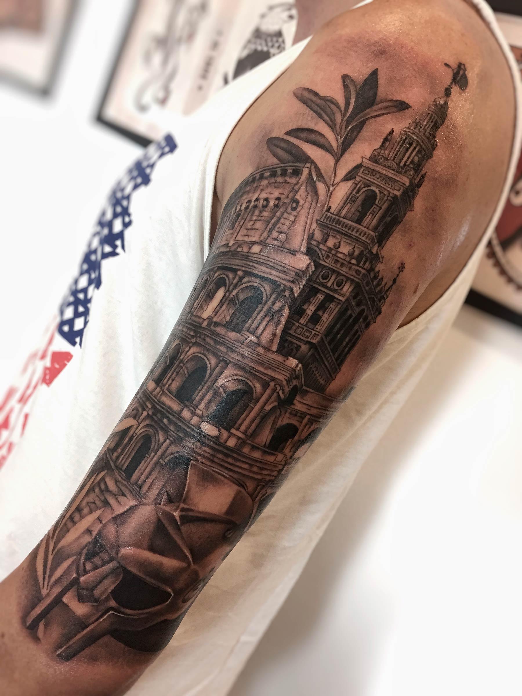 tatuaje giralda