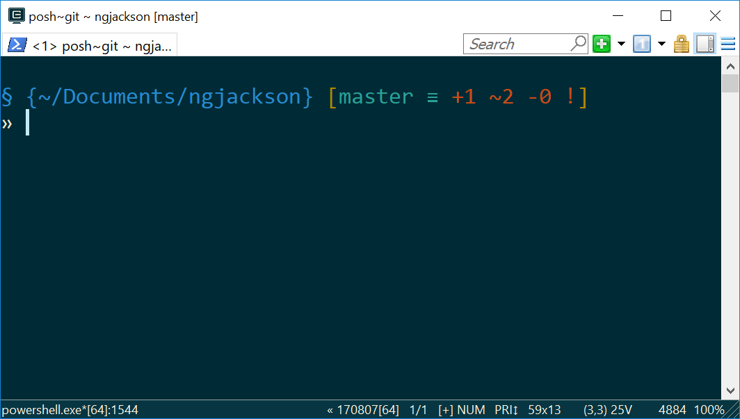 Pretty prompt with Git!