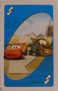 Cars Uno Reverse Card