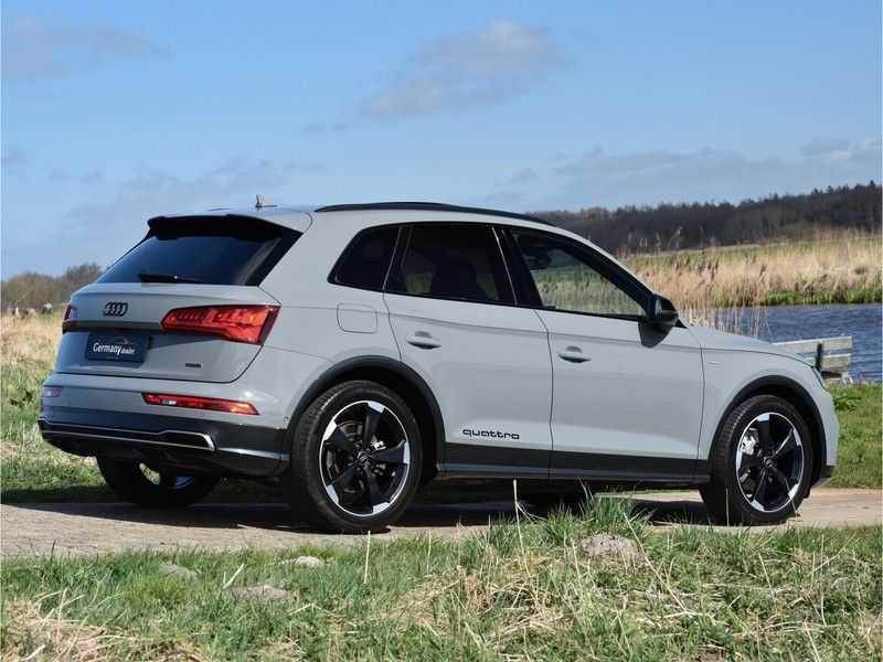 Audi Q5 2.0TFSI 252pk Quattro Black Optic Alle Opties! Lucht Tr.Haak Ruitleder Carbon Matrix Pano 20-Inch afbeelding 11