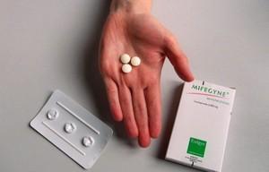 mifegyne pill circular shape
