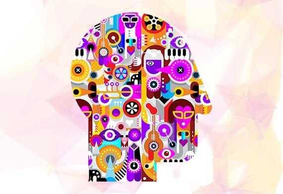 Bild einer Kopfform, welche die komplexität von Prozessen im Machine Learning Darstellt