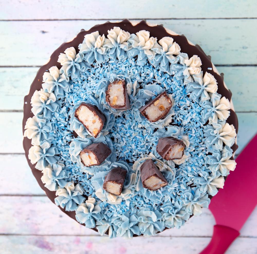 vegan mounds cake