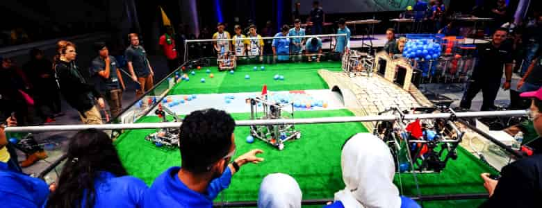 winning with robots