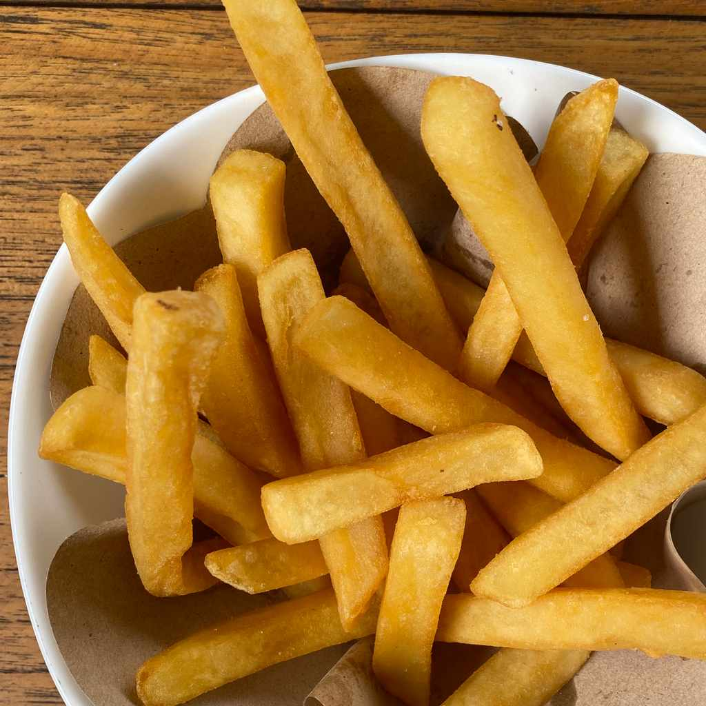side dishes: french fries