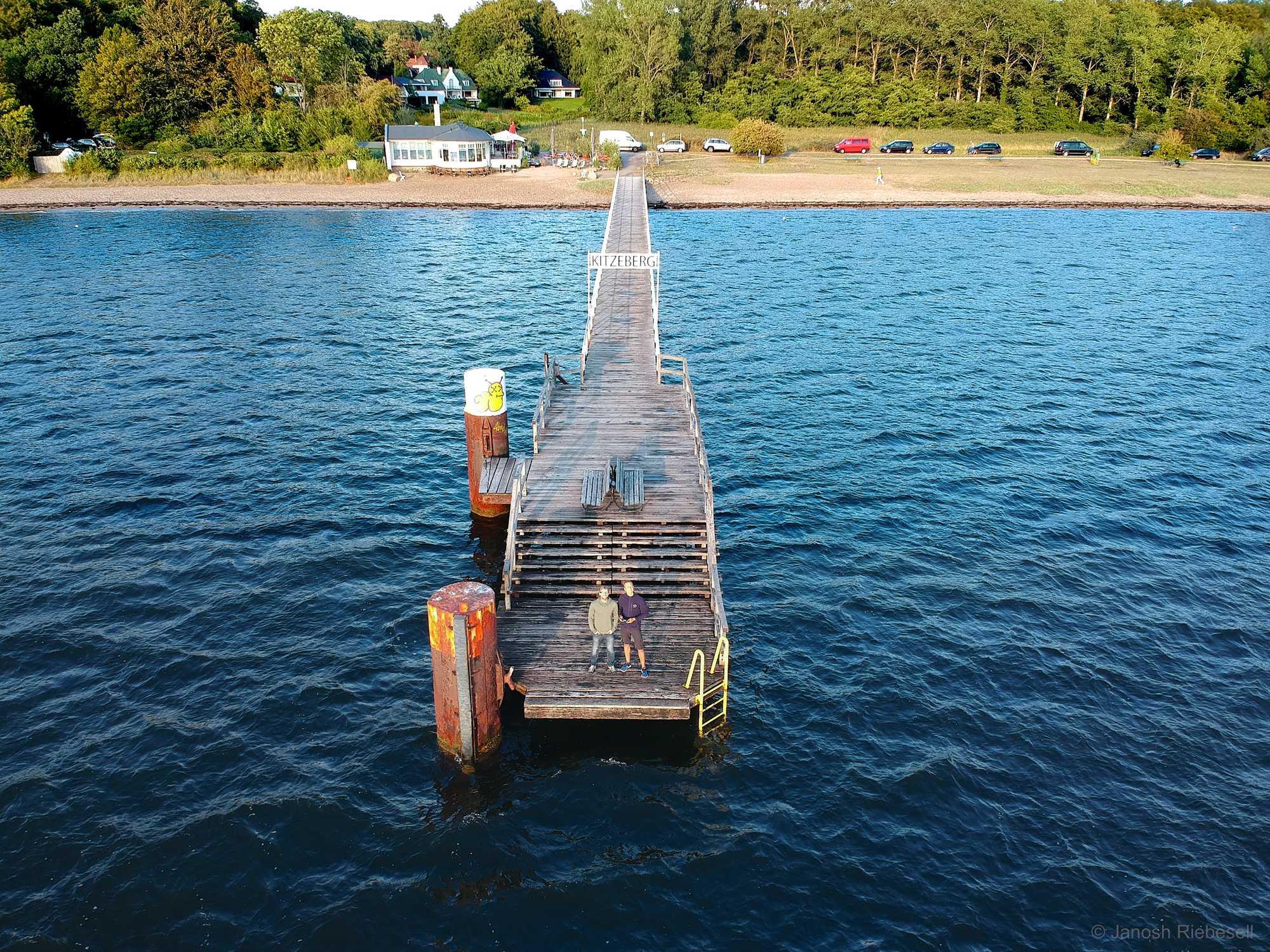 Drone Kitzeberg Pier