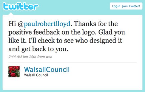 @WalsallCouncil replying to a question from me on Twitter