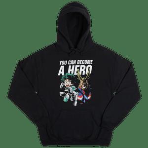 My Hero Academia Pullover Hooded Sweatshirt