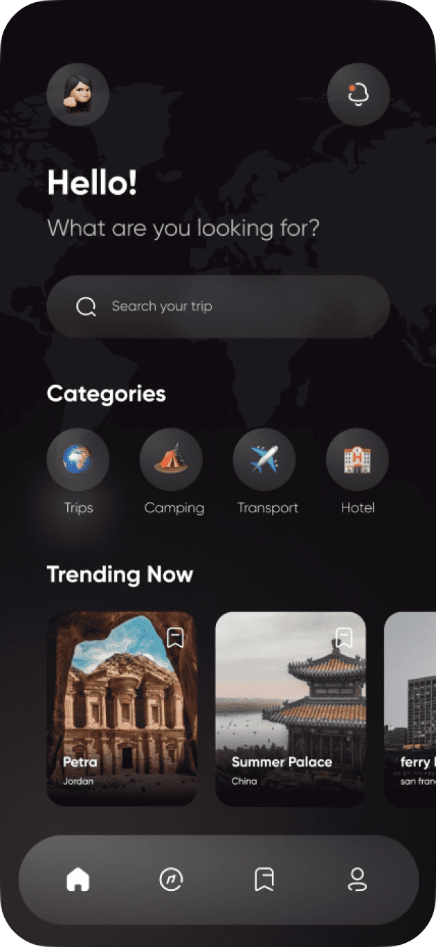 Travel planning apps | Codempire