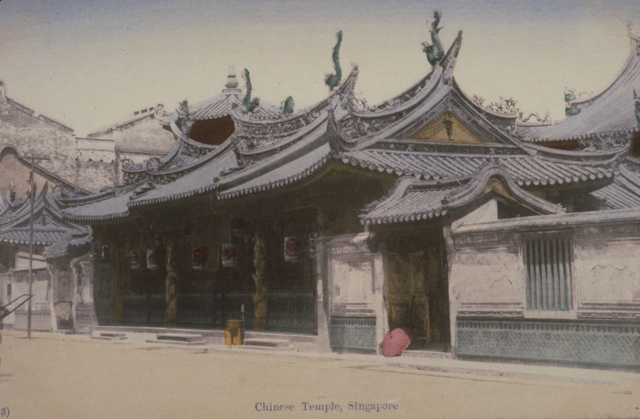 Thian Hock Keng Temple, 1900s