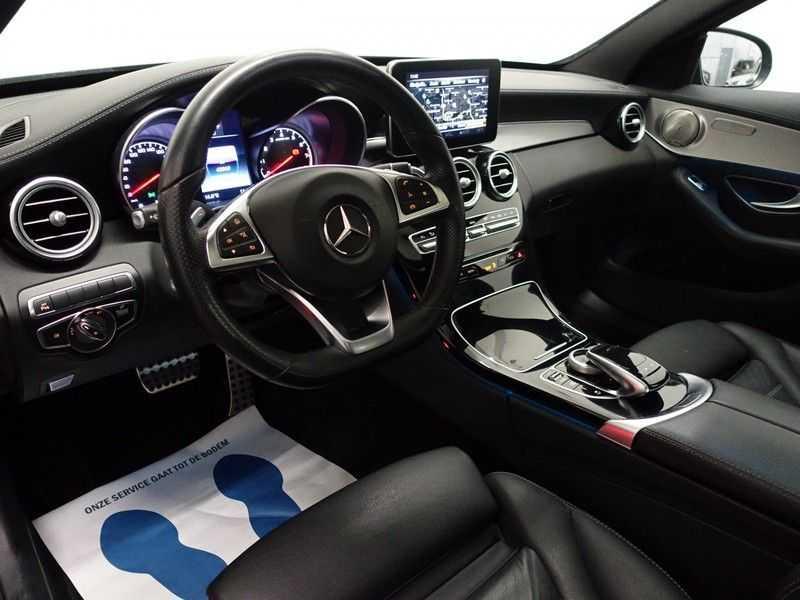Mercedes-Benz C-Klasse 43 AMG 4M Black Series 368pk Autom- Schuifdak, Burmester, Leer, MBUX, Camera, Full! afbeelding 15