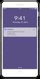 MobilePay push-meddelse på telefon