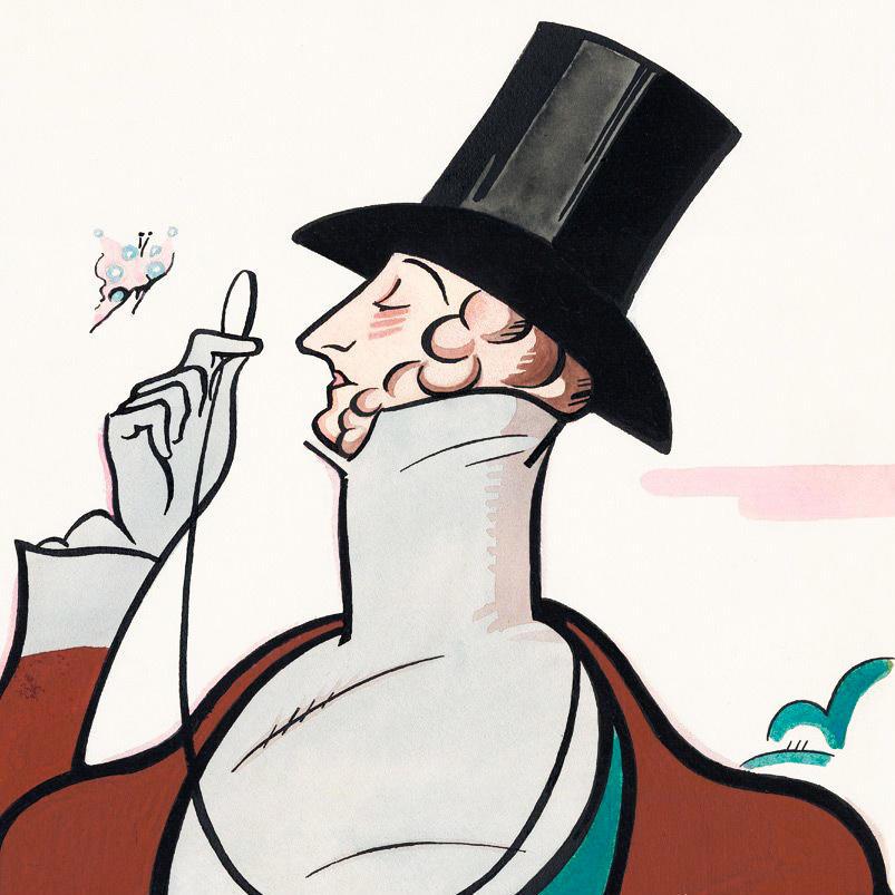 Фрагмент обложки журнала The New Yorker от 22 февраля 1936 года