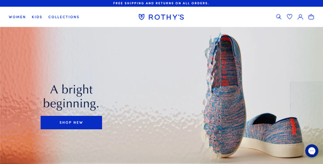 Rothy's Headless Shopify