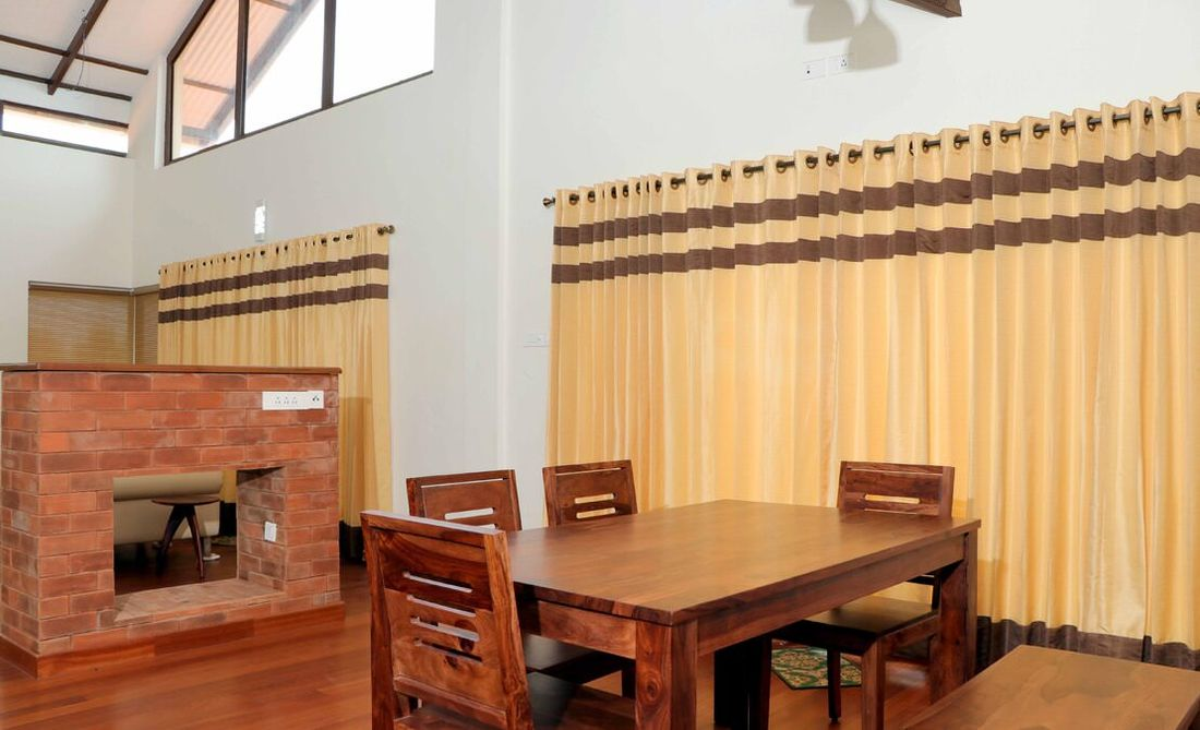 Dining room at the house