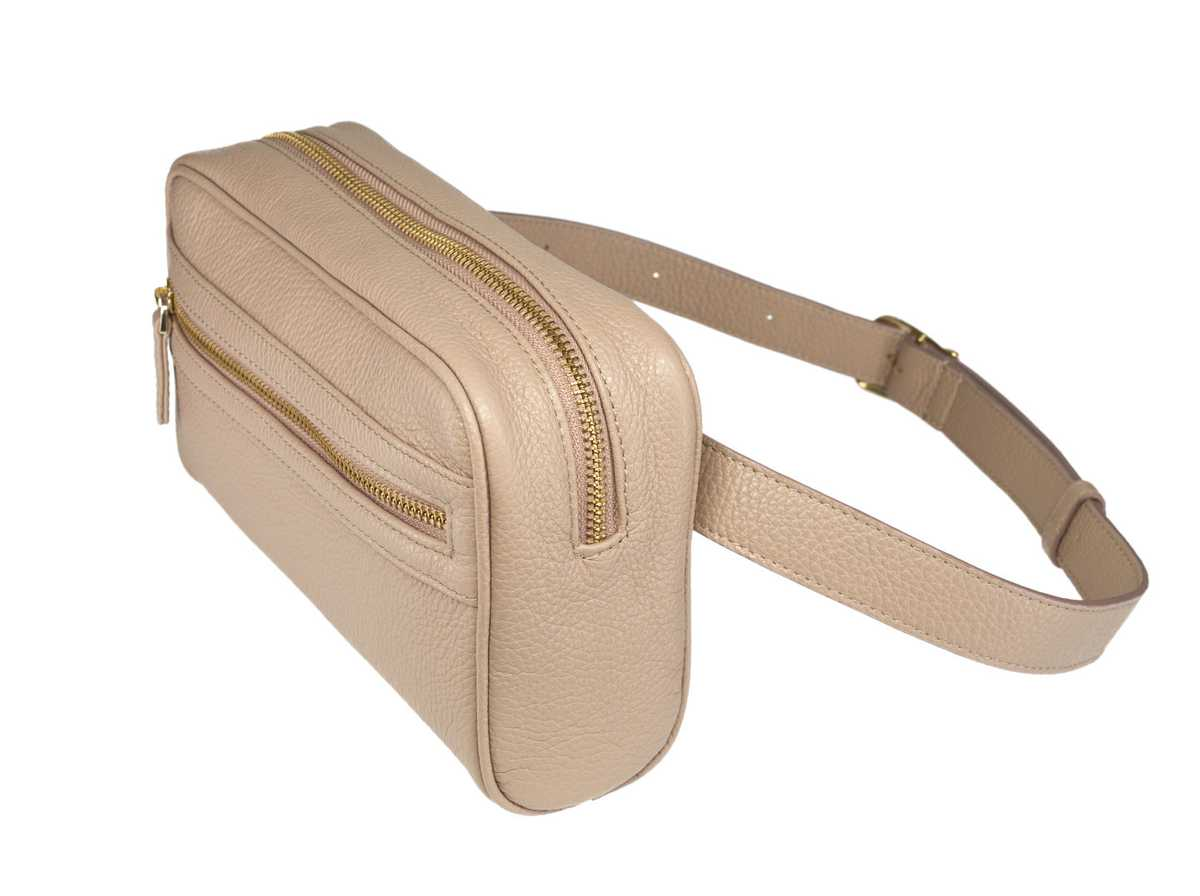 Izar Belt Bag - cipria